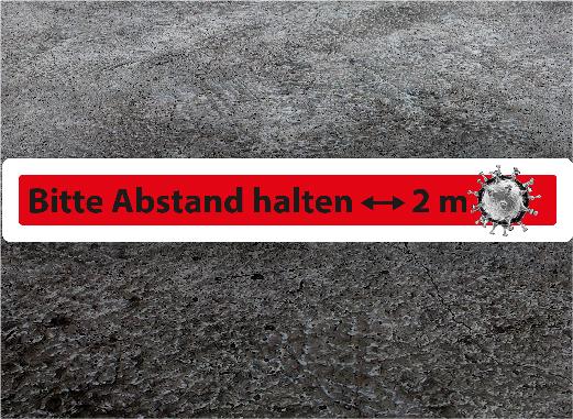 ABSTAND-HALTEN 06
